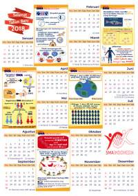 Preview Kalender Komunitas SMA Indonesia